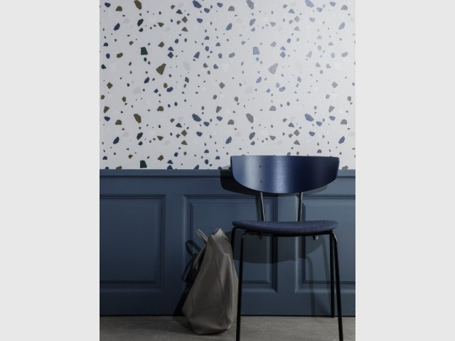 Papier peint terrazzo, 75 € chez The Cool Republic