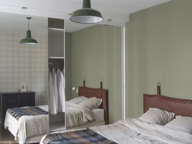 Une chambre plus spacieuse et un dressing sur-mesure