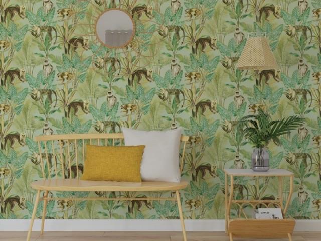 Du papier peint ambiance jungle tropicale