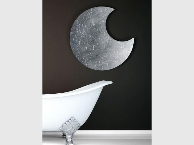 Le radiateur Lune, comme une belle nuit dans la salle de bains