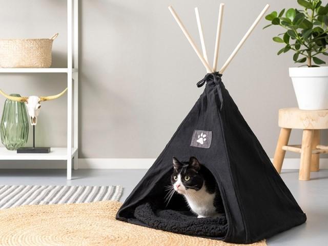 Tipi pour animaux domestique, Casa; prix : 17,99 €