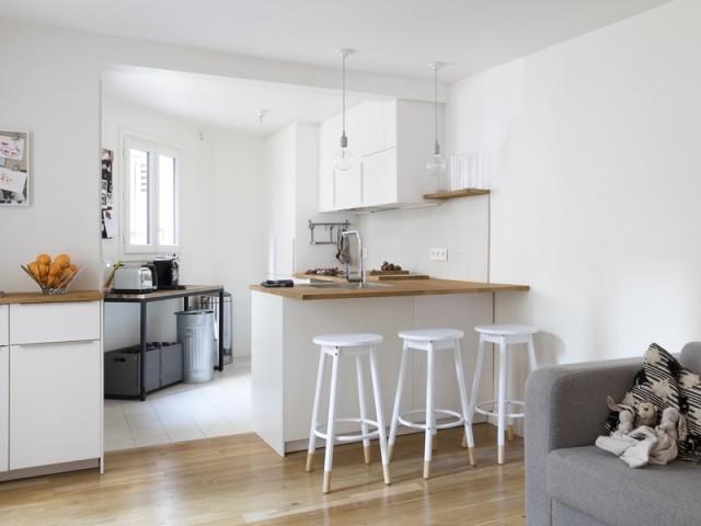 1 lot de cuisine fa on bar 10 exemples gain de place en - Idee amenagement cuisine ouverte sur salon ...
