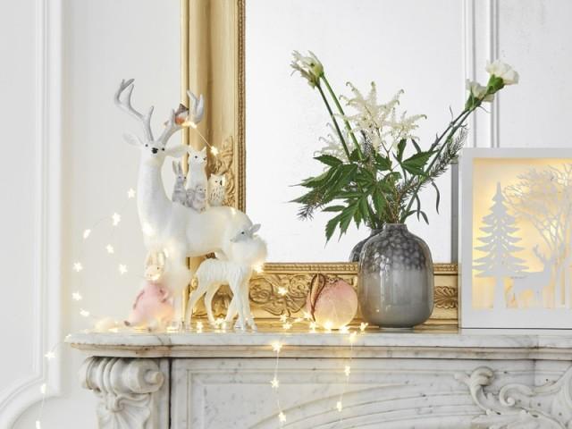 Une maison habillée de lumière pour les fêtes