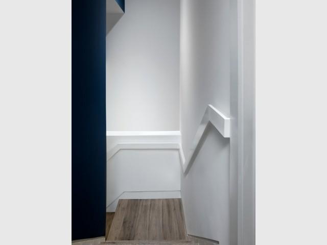 Création d'un escalier pour accéder à la salle de jeux