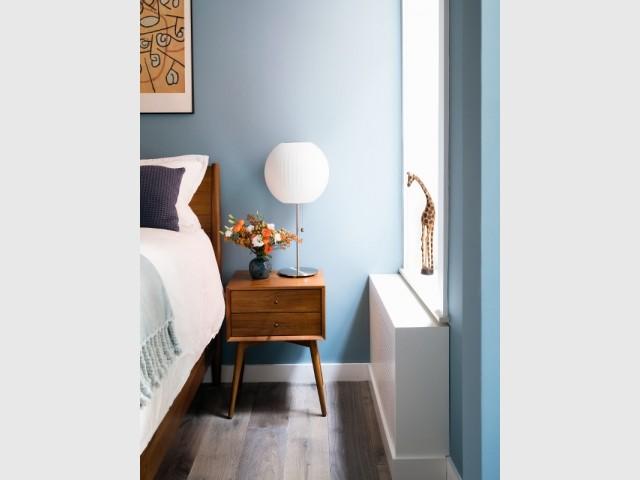 Une chambre confortable et moderne
