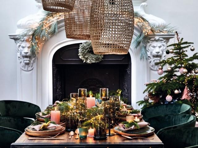 15 idées de déco pour sublimer sa table de fêtes