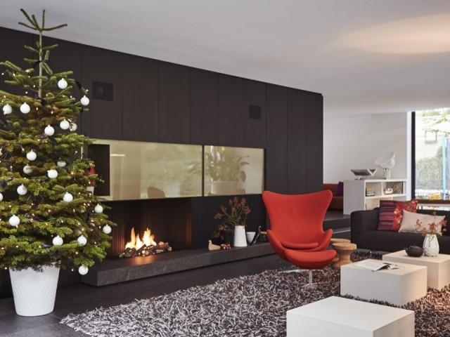 Noël au coin du feu dans un cocon ultra moderne