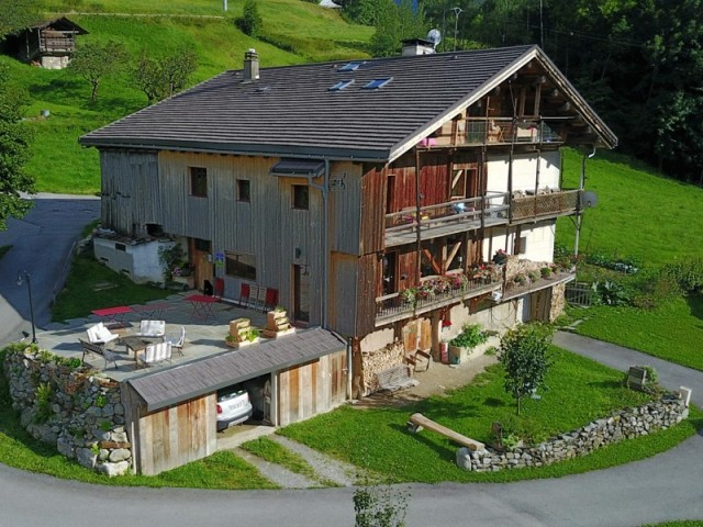 Cette ancienne grange est désormais une sublime maison d'hôtes