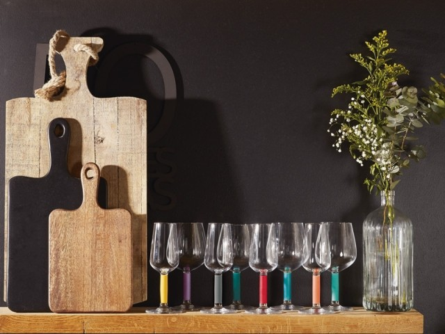 La collection de verres à vin Lumikit