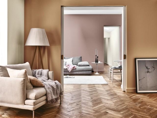 Miel ambré : pour un intérieur chaleureux - Peinture Miel Ambré, couleur de l'année 2019