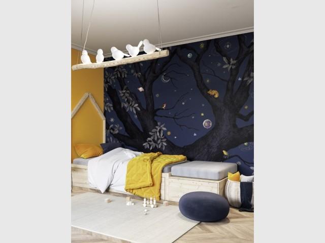 Suspension Dining Birds, Kare Design, 198 € (mise en scène Isidore Leroy)