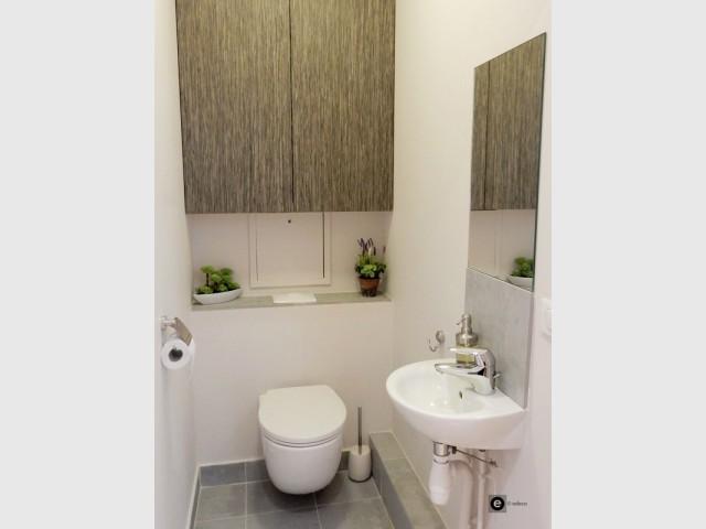 Après : des toilettes optimisées