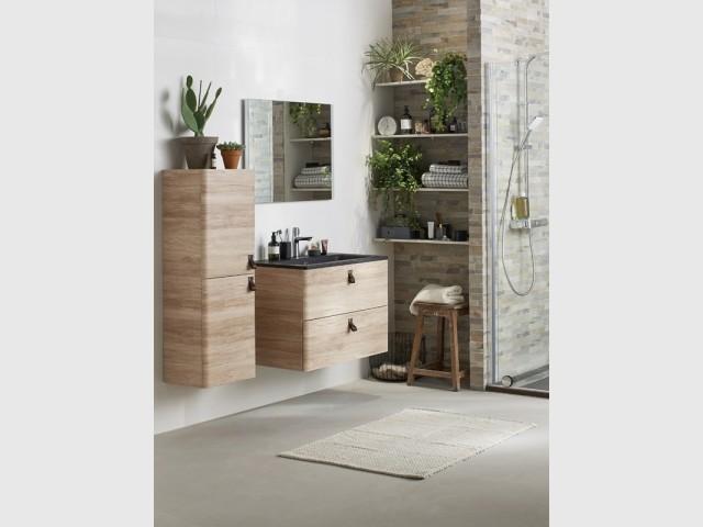 Du bois pour une salle de bains chaleureuse : 10 idées pour ...