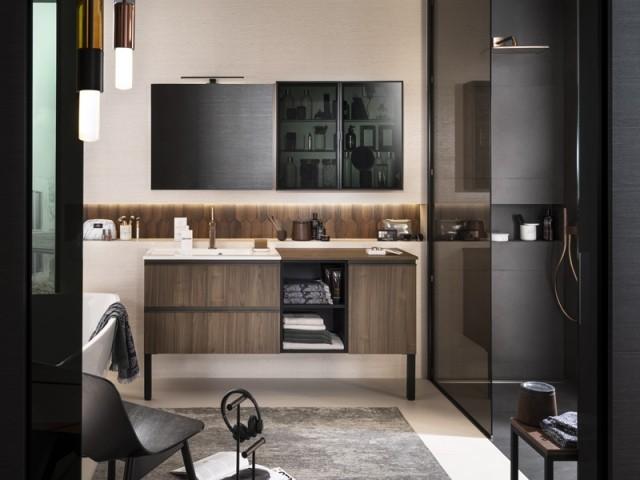 Du bois pour une salle de bains chaleureuse : 10 idées pour bien l ...