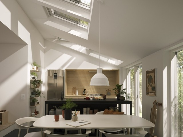 Une fenêtre de toit qui améliore la qualité de l'air intérieur