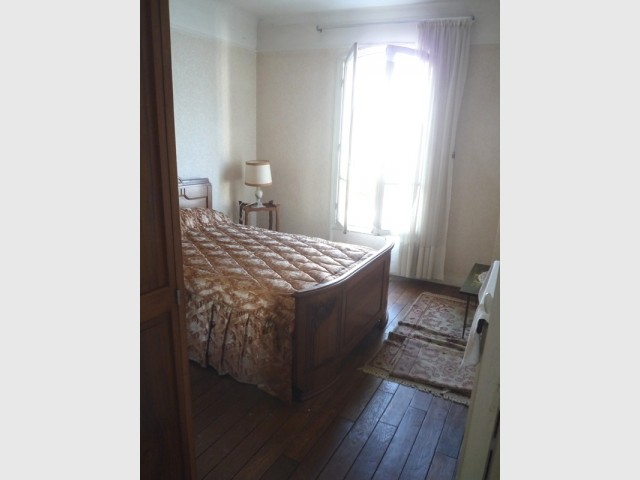 Avant : une chambre à l'ancienne