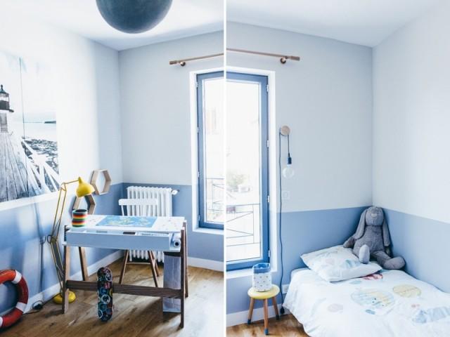 Après : des chambres d'enfant modernes et colorées