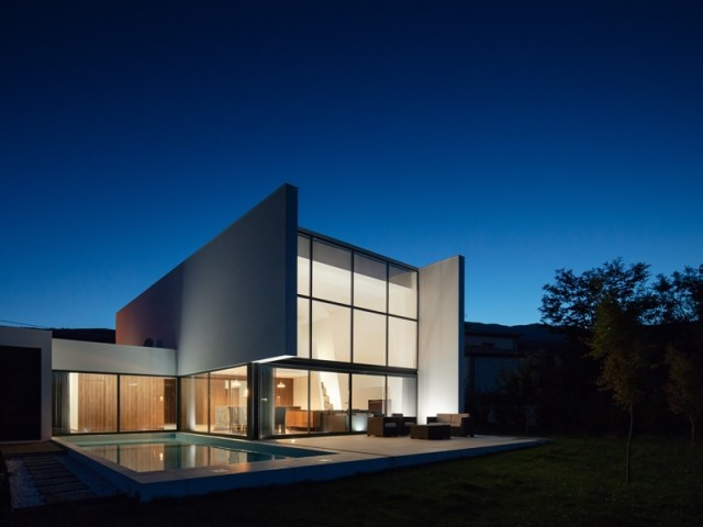 Une jolie construction contemporaine