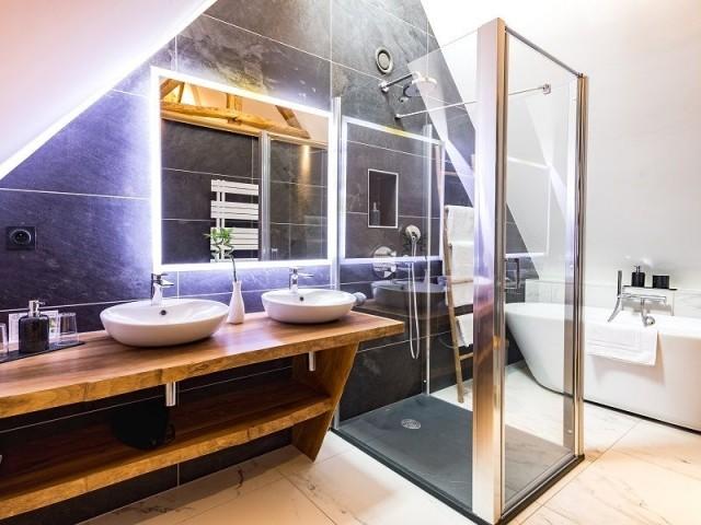 Des salles de bains avec douche à l'italienne - Clos l'Abbé
