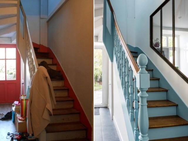 Rénover un escalier : 16 photos avant/après bluffantes