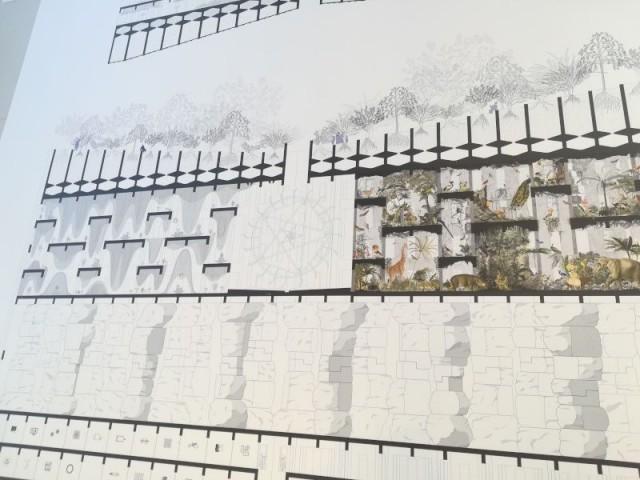 Un projet ouvert à une centaine d'architectes - Tour futuriste au pavillon de l'Arsenal, février 2019