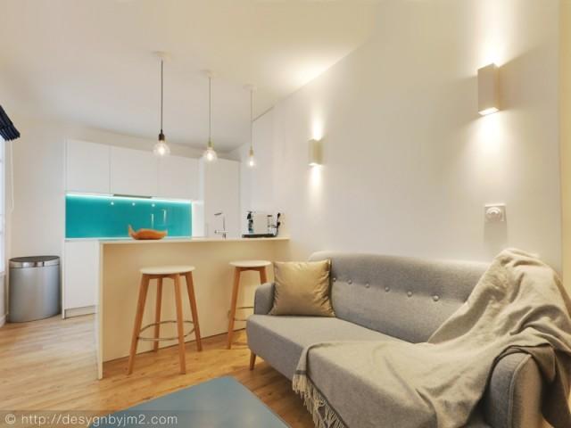 Une pièce à vivre cosy et chaleureuse
