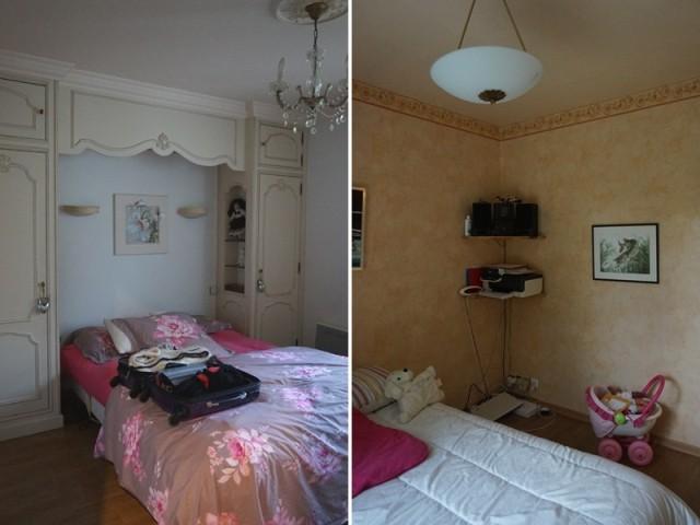 Avant : deux petites chambres à la déco datée
