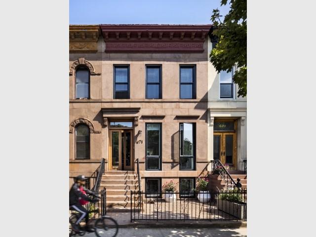 Une maison typiquement new-yorkaise à rénover