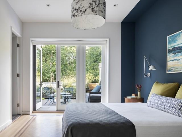 Une confortable suite parentale avec terrasse