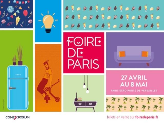 Foire de Paris, du 27 avril au 8 mai 2019, à Paris Expo Porte de Versailles
