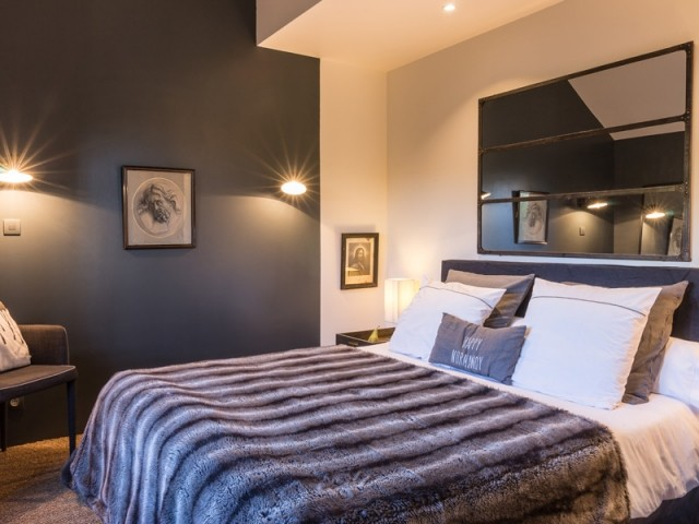Une chambre douillette et confortable