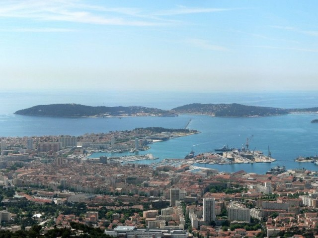 Toulon - crédit David Monniaux