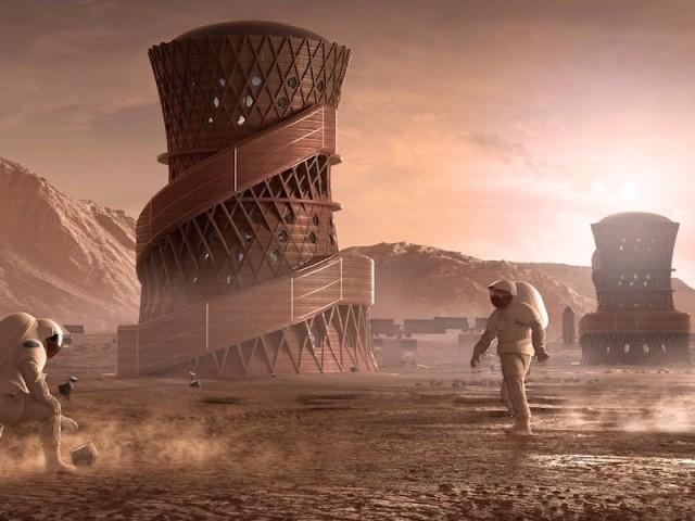 Habitat martien