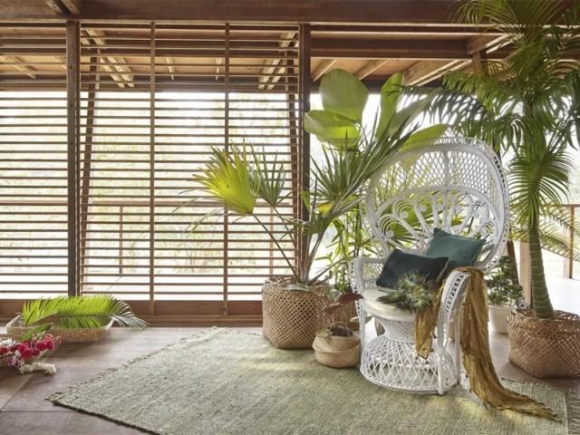 Fauteuil en rotin blanc Philippine, Maisons du monde, prix : 299 €
