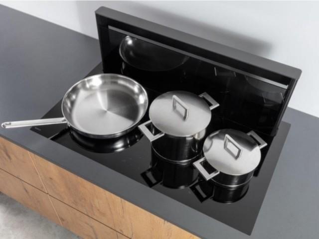 Table de cuisson avec hotte intégrée Novy Panorama Power