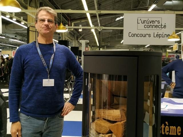 Système domotique pour allumage de foyer bois - Patrick Séran au Concours Lépine 2019