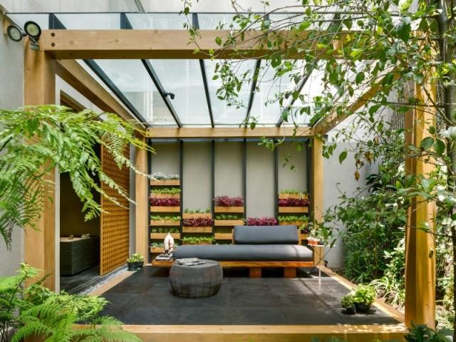 Le Garden Box, un cube d'intimité dans la Villa Jardin