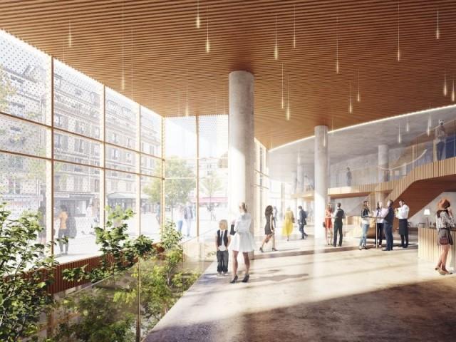 Ouvrir l'édifice à l'extérieur - Projet opéra Bastille