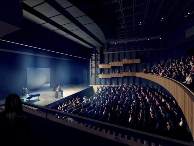Une nouvelle salle - Projet opéra Bastille