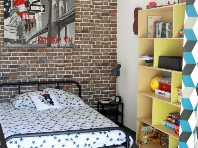 Chaque enfant a une chambre personnalisée
