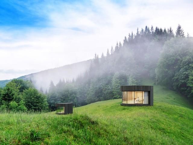 Une bulle avec vue panoramique pour dormir sous les étoiles