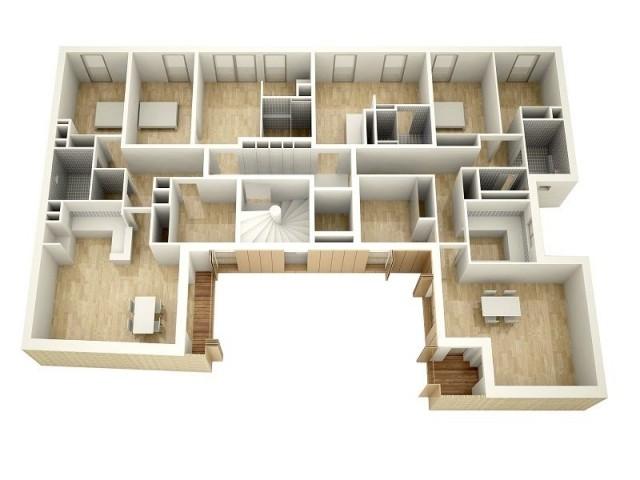 Distribution d'un étage type - Rue de Charenton