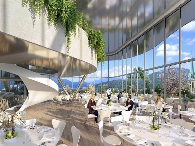 Un restaurant panoramique - L'Ecume des Ondes