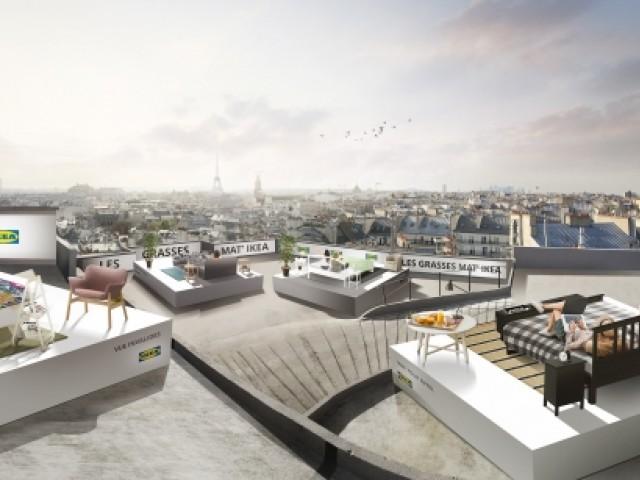Ikea vous propose de vous réveiller sur les toits de Paris