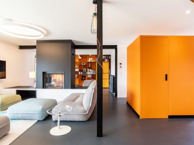 Après : une pièce à vivre de 56 m2