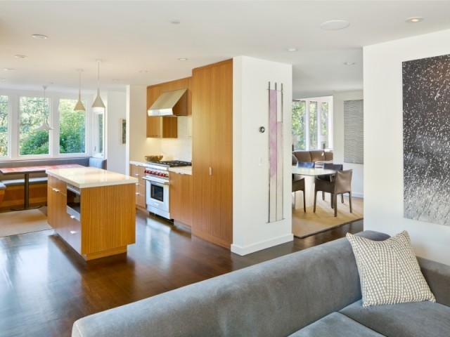 Une cuisine plus vaste et ouverte sur le salon