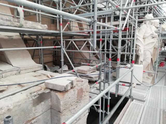 Contraintes chantier chapelle royale