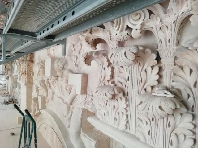 Sculptures chapelle royale
