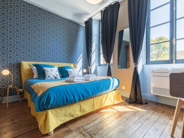 Une chambre aux accents Art Deco