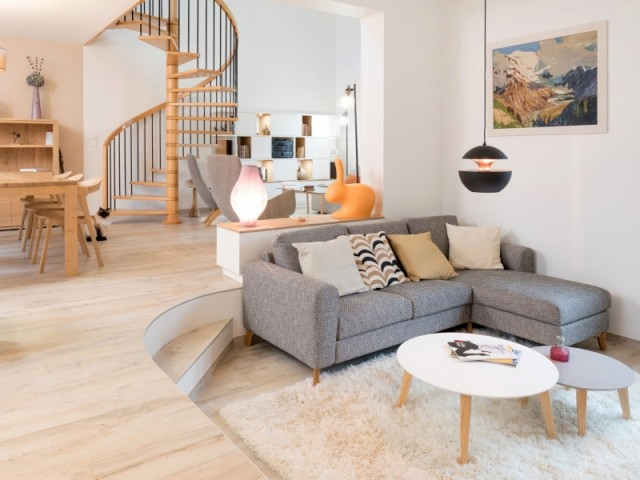 Un salon au design scandinave